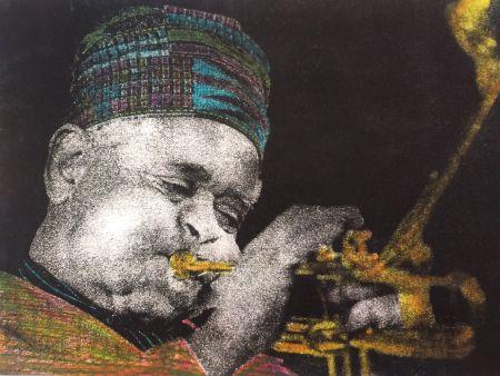 写真 Stefanakis - Dizzy Gillespie