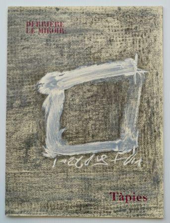 リトグラフ Tapies - Dlm - Derrière Le Miroir Nº 234