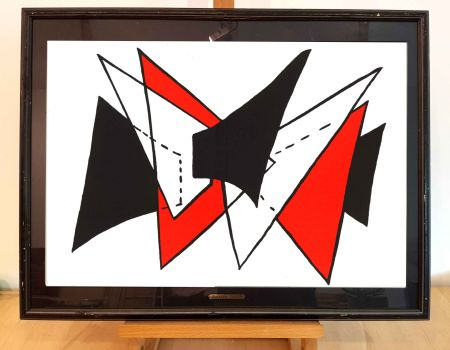 リトグラフ Calder - Dlm 141-3