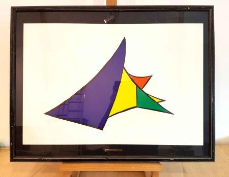 リトグラフ Calder - Dlm 141-4
