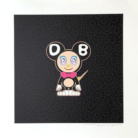 リトグラフ Murakami - DOB 2020 Black