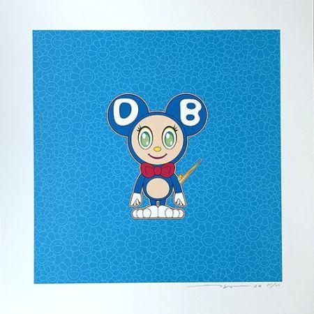 リトグラフ Murakami - DOB 2020 Light Blue