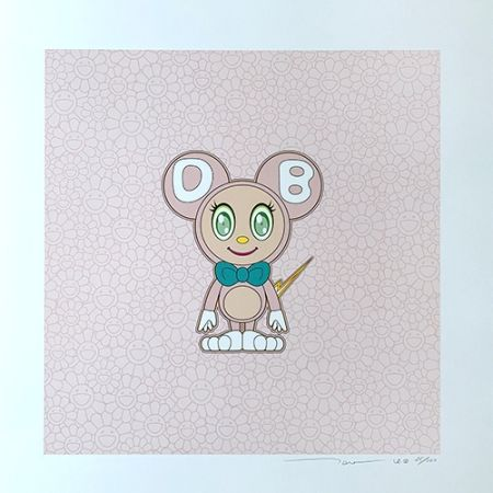 リトグラフ Murakami - DOB 2020 Light Pink