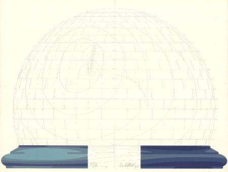 リトグラフ Babou - Dome