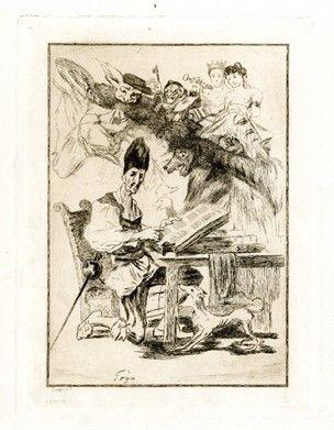 彫版 Bracquemond - Don Quixote