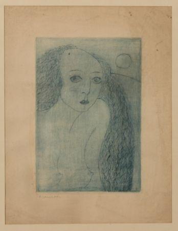 彫版 Casorati - Donna