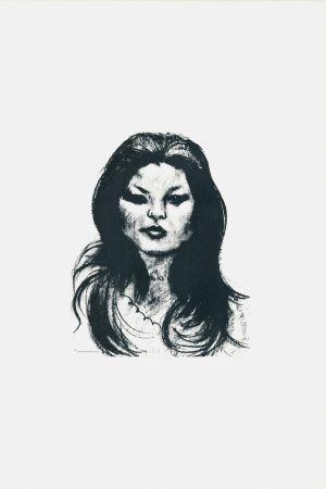 リトグラフ Messina - Donna