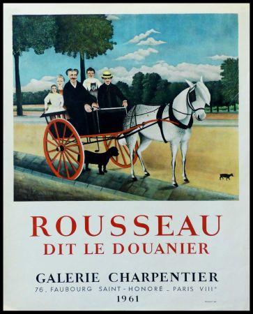 掲示 Rousseau - DOUANIER ROUSSEAU GALERIE CHARPENTIER ROUSSEAU DIT LE DOUANIER
