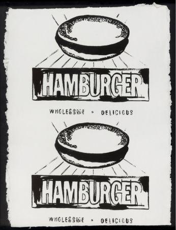 多数の Warhol - Double Hamburger