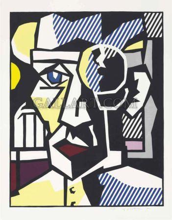 木版 Lichtenstein - Dr. Waldmann