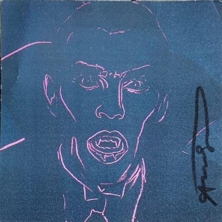 シルクスクリーン Warhol - Dracula