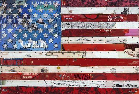 多数の Liot - Drapeau américain
