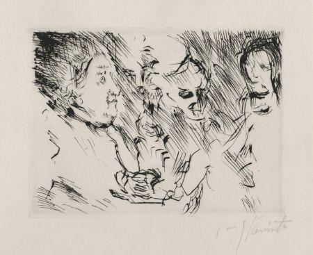 ポイントーセッシュ Corinth - Drei Personen am Tisch