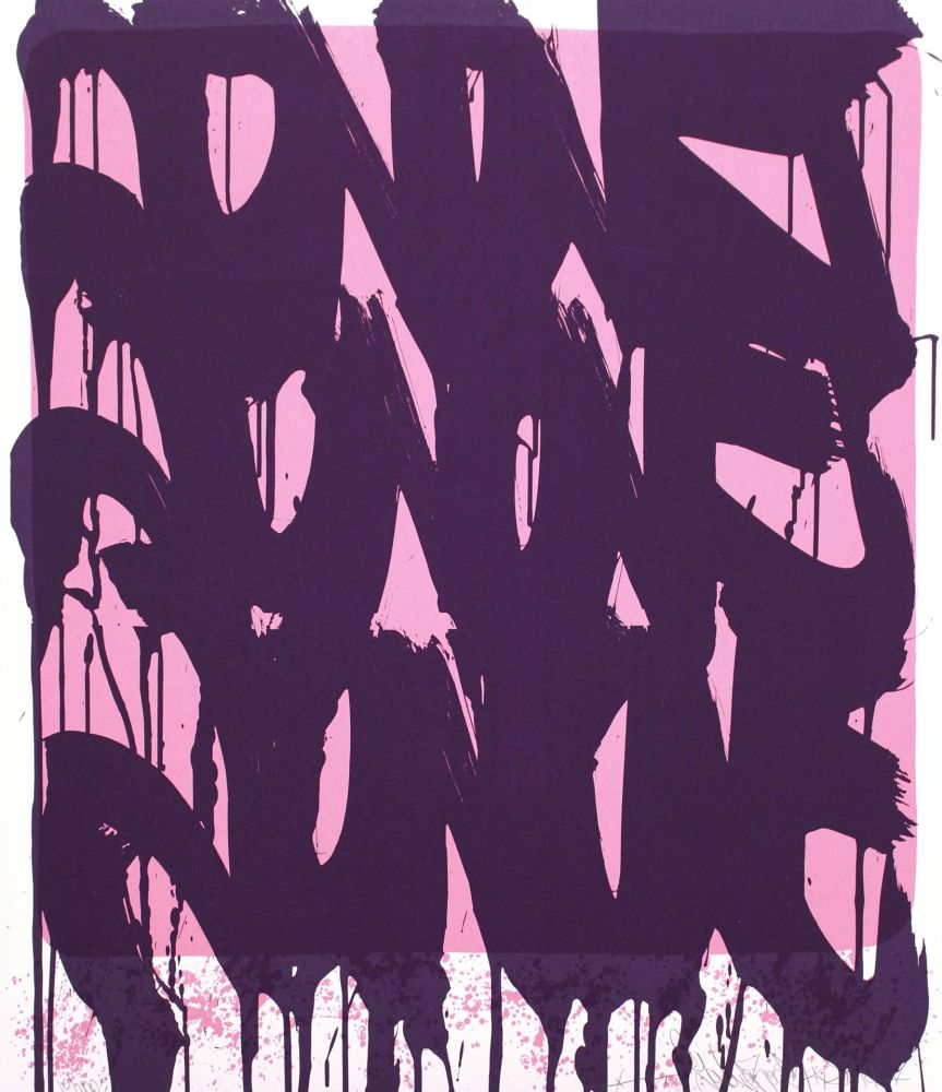 シルクスクリーン Jonone - Dripping Tags