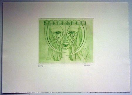 彫版 Svanberg - Dromkvinnans kyss