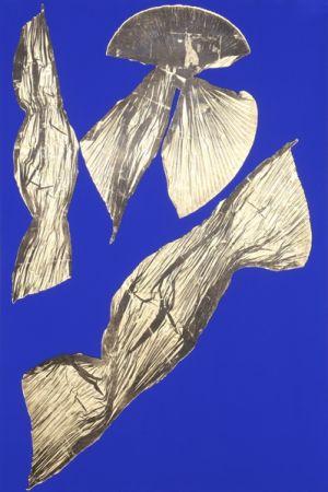 リトグラフ Benglis - Dual Nature (Blue) I