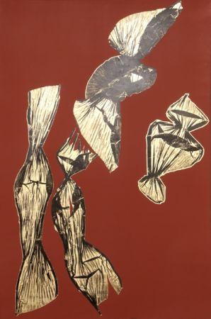 リトグラフ Benglis - Dual Nature (Brown)
