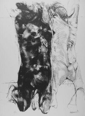 リトグラフ Vespignani - Due figure