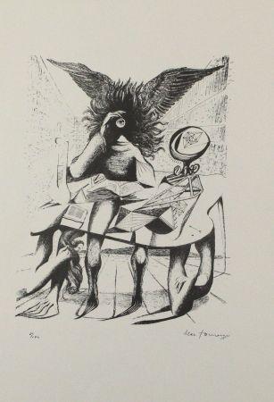 リトグラフ Zimmermann - Durch ein Nadelöhr I / Through a Needle's Eye I