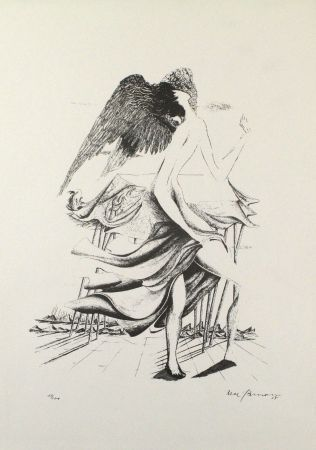 リトグラフ Zimmermann - Durch ein Nadelöhr IV / Through a Needle's Eye IV