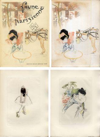 挿絵入り本 Legrand - E. Ramiro : FAUNE PARISIENNE. La suite des gravures signées par Louis Legrand (1901)