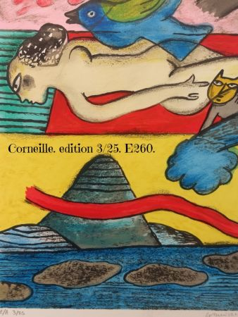 リトグラフ Corneille - EA 3/25