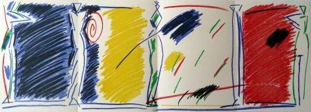 リトグラフ Kuroda - East/West Pentures i diuixos