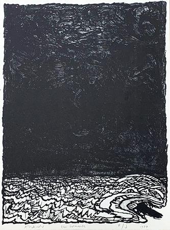 リトグラフ Alechinsky - Eau dormante