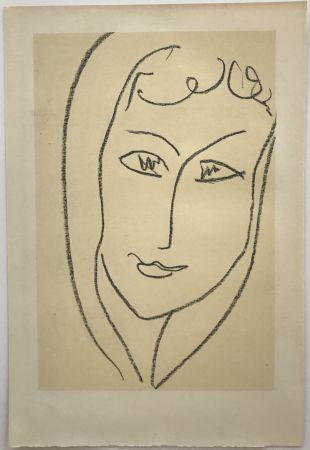 リトグラフ Matisse - Echos II