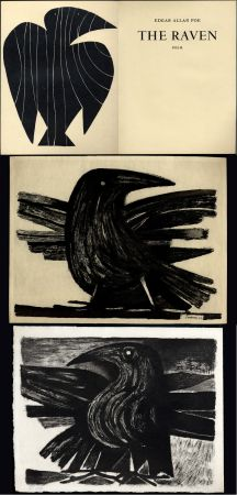 挿絵入り本 Prassinos - Edgar Allan POE. THE RAVEN