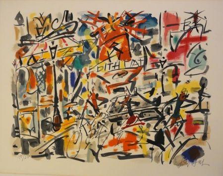 リトグラフ Paul  - Edith Piaf
