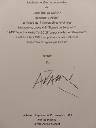 挿絵入り本 Adami - Edition Tete DLM 206