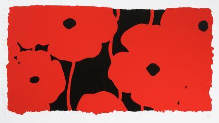 シルクスクリーン Sultan - Eight Poppies