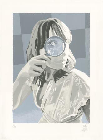 リトグラフ Picasso  - Ein Blick (Un Coup d'oeil)