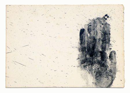 リトグラフ Broglia - El Baquiano y los suyos