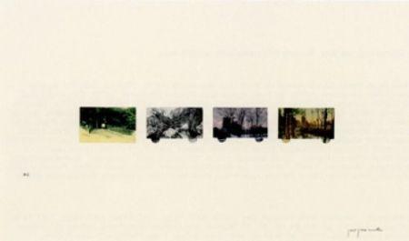 リトグラフ Perejaume - El bosc a casa-2