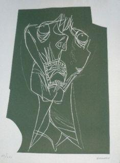 彫版 Guayasamin - El grito 1 variante