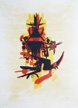 リトグラフ Lam - El ultimo viaje del buque fantasma - 10