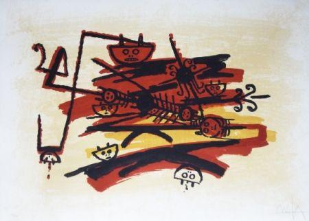 リトグラフ Lam - El ultimo viaje del buque fantasma - 4