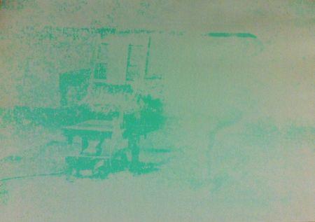 シルクスクリーン Warhol - Electric Chair (FS II.80)