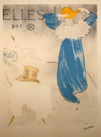 リトグラフ Toulouse-Lautrec - Elles