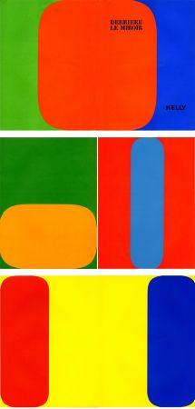 挿絵入り本 Kelly - ELLSWORTH KELLY. Derrière Le Miroir n° 149. Octobre-novembre 1964. 5 LITHOGRAPHIES ORIGINALES.