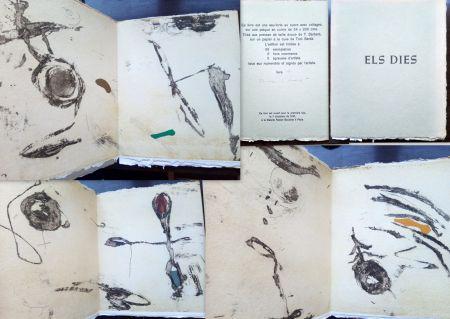 エッチング Riera I Arago - Els dies (Livre d'artiste)