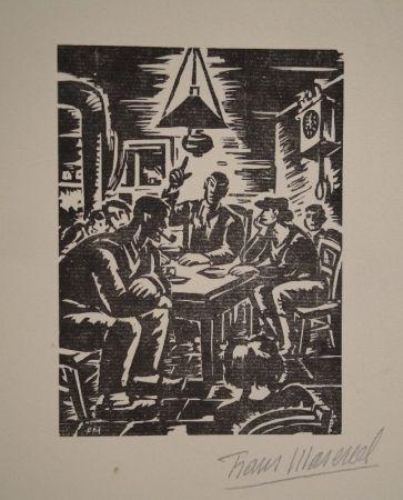 木版 Masereel - Emile Zola, Germinal