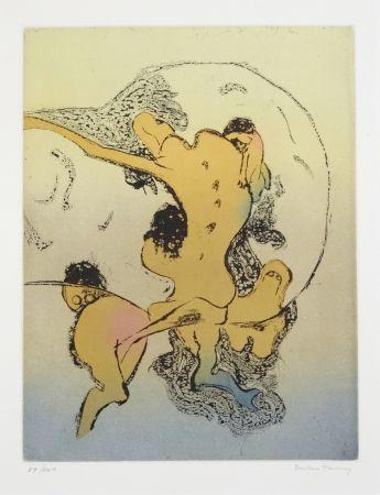 リトグラフ Tanning - En chair et en os
