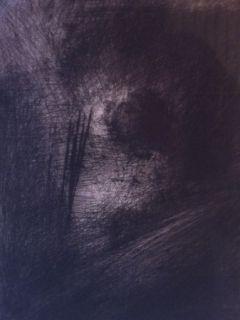 彫版 Leroy  - En Hauteur sur un lit sombre en diagonale