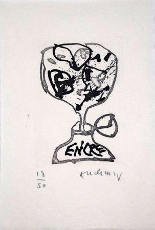 挿絵入り本 Alechinsky - Encre (Lettre Suit -
