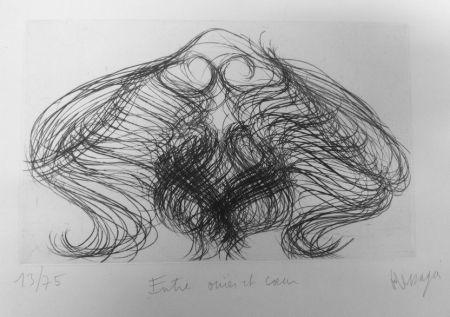 彫版 Messagier - Entre ouïes et coeur