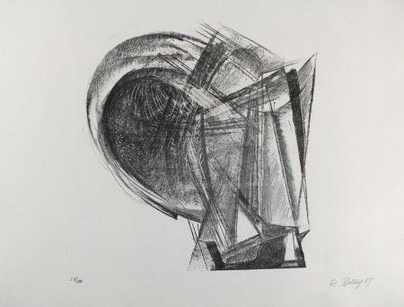 リトグラフ Belling - Entwurf für Metallplatten und Draht II