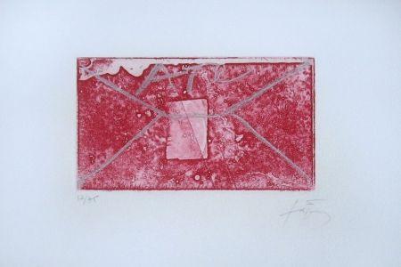 彫版 Tàpies - Enveloppe